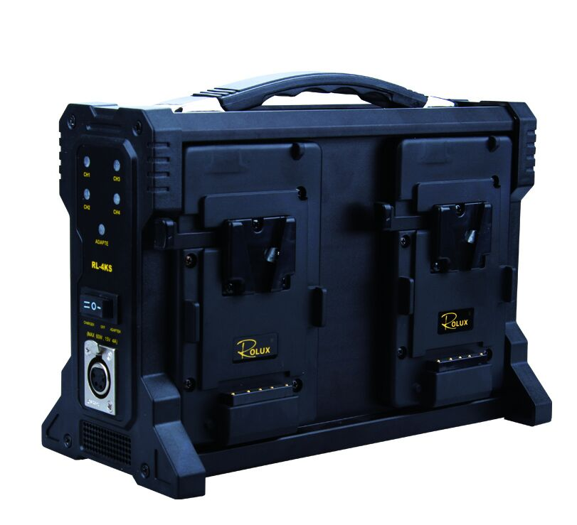 Video Rolux kamere Četverokanalni V zaključavanje Punjač baterije - Kamera i foto