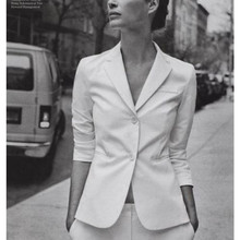 White Women Ladies Formal Business Office Jacket Pants New Style Suits Bespoke