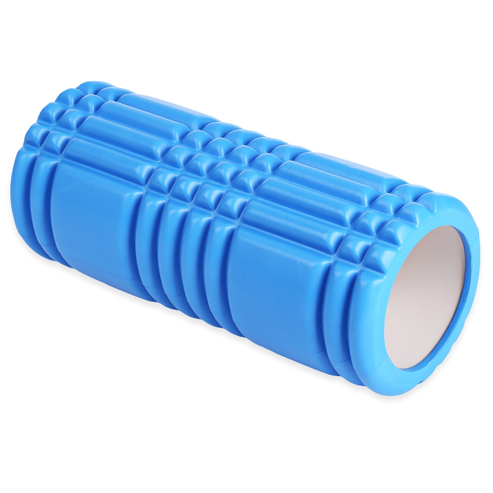Free Shipping Yoga Pilates Fitness Foam Roller Yoga Column Train Gym Massage Grid Trigger Point Therapy Exercise Physio elite fitness massager roller stick trigger point muscle roller exercise therapy releasing tight body massage tool gym rolling