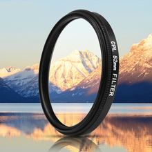 цена на 52mm Black Metal Glass Circular Polarizing CPL Lens Filter Set with Filter Adapter for GoPro Hero 7 6 5 Go Pro Action Cam