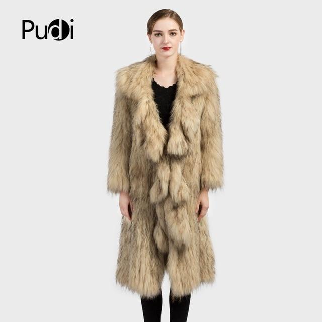 CT7018 Tricoté réel fourrure de Raton Laveur manteau pardessus veste Russe  de femmes d hiver. Passer la souris dessus pour zoomer 708d8f8949f