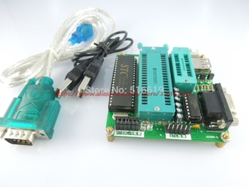цена на Free shipping USB 51 MCU programming Ep51 programmer AT89 STC series (dual-purpose type upgrade version)