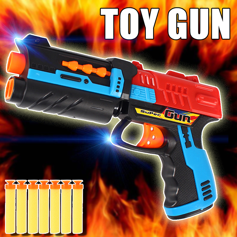 Soft Bullets Toy Gun Christmas Gift Kid Airsoft Pistol Outdoor Fun Sports Airsoft Air Gun CS