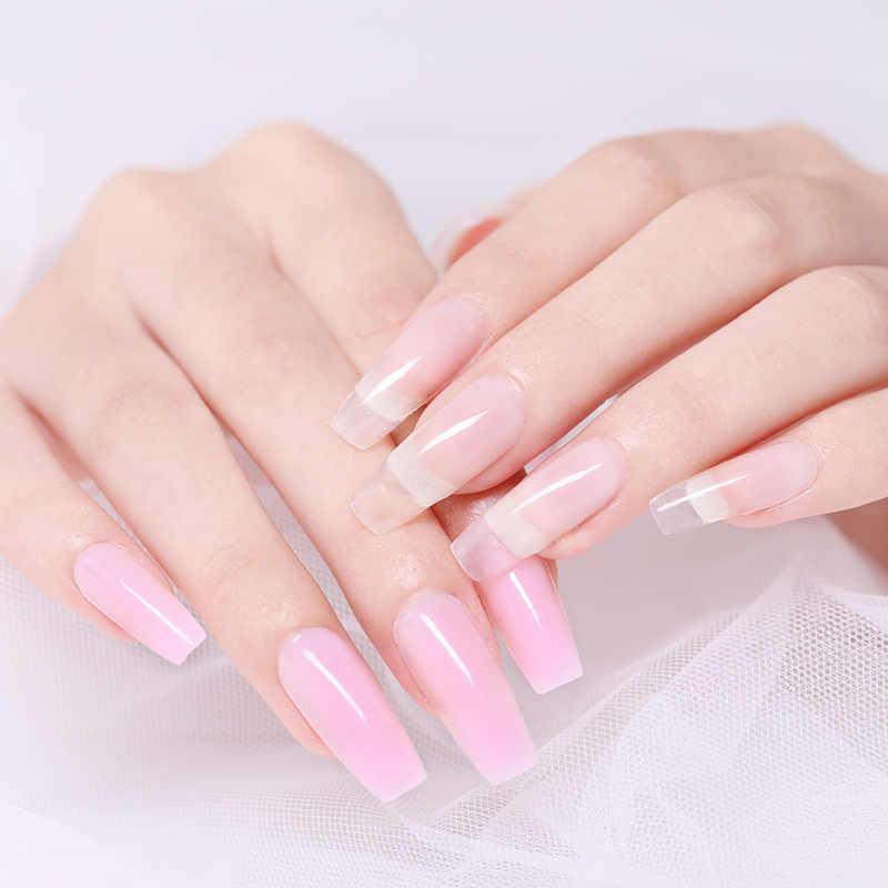 UR SUIKER 30 ml Poly Nail Gel Kits Nail Art Franse Nail Art Clear Color Nail Tip Vormen Kristal UV gebouw Gel Borstel Gel Builder