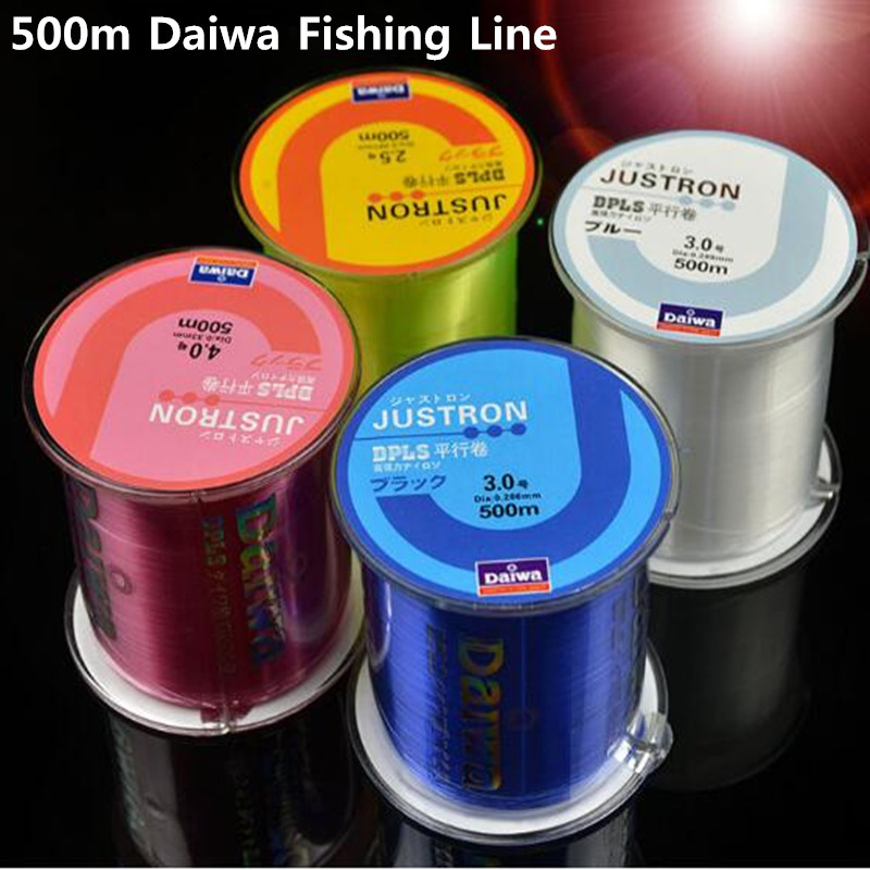 Z60 Fishing Line Japan Durable Monofilament Rock Sea 500m Nylon Fishing Line Daiwa Series Thread Bulk Spool All Size 0.4 to 8.0 hd2 5 nylon sea fishing line brown 500m