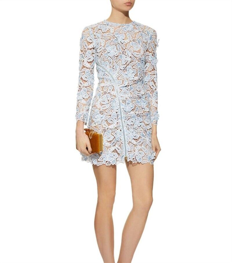 2019 nouvelle arrivée printemps à manches longues robe à fleurs-in Robes from Mode Femme et Accessoires    3