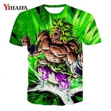 Summer Men 3D Print T shirt Dragon Ball Z Anime Casual Tee Shirts Graphic Hip Hop Short Sleeve Tops funny t shirts