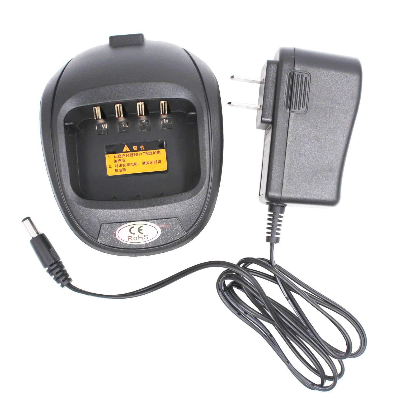 CH10A03 Battery Rapid Charger For HYTERA HYT Radio TC-610 TC-620 POWER446 TC-610P TAKT-301 TC610 TC620 BL2001 BL1204 AKL-2001