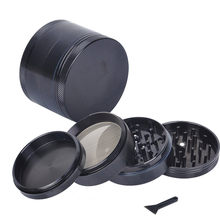 4-layer Aluminum Herbal Herb Tobacco Grinder Smoke Grinders(China)