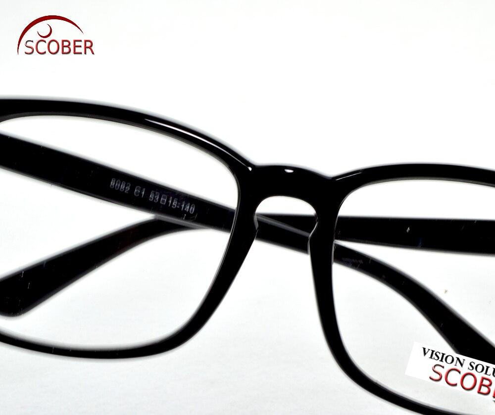 f1a4412e53c9  SCOBER  Large Eyeglasses Square Black Retro Trend Reading Glasses Men Women  Fashion Frame Spectacles +1 +1.5 +2 +2.5 +3 +3.5 +4-in Reading Glasses from  ...