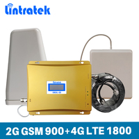 Phone Signal Booster Dual Band GSM900mhz DCS180mhz Repeater
