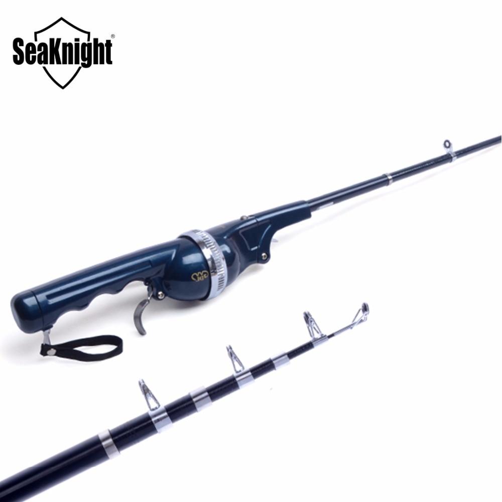 2015 gw brand new portable folding fishing rod sea winter for Foldable fishing rod