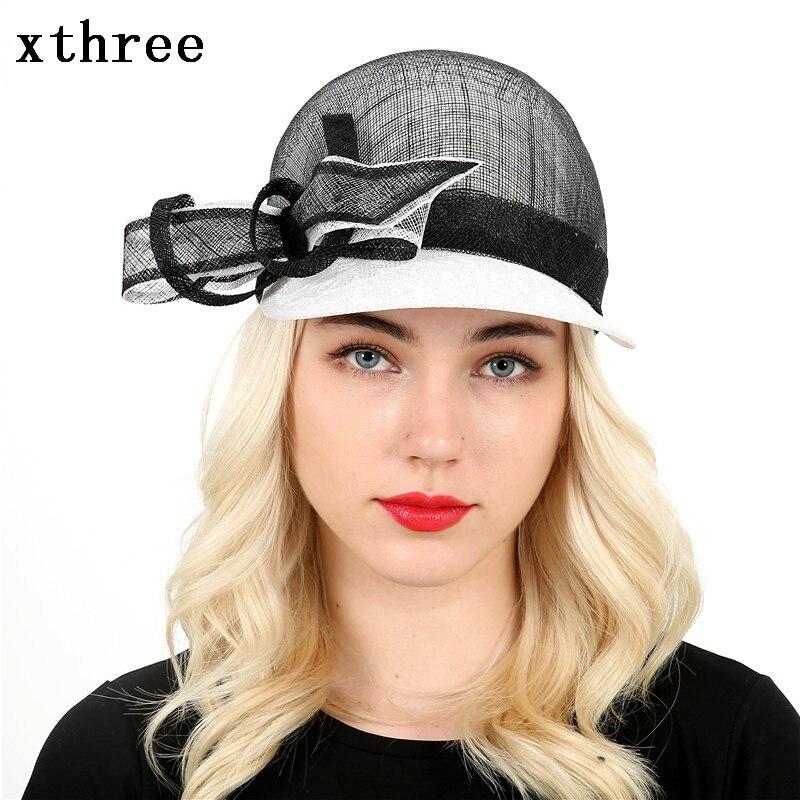 Prix pour Xthree lin et Dentelle femmes casquette de baseball de relance de chapeau d'été pour les femmes casquette gorras os