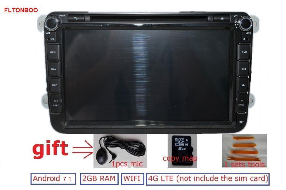 8 Pure Android 4 4 4 For VW B6 Tiguan Golf Jetta Car Dvd Gps Navi