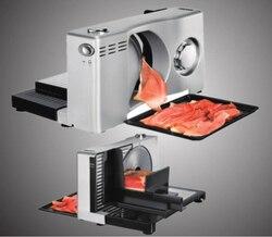 قطاعة طعام كهربائية منزلية شرائح خروف فاكهة أجاد قطع آلة تخطيط اللحوم سمك قابل للتعديل