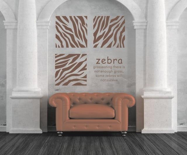 Nuovo arrivo colori availavle unico modello della zebra stripe
