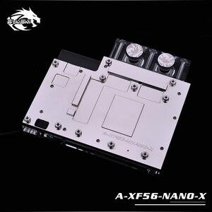 Image 3 - Bykski wykorzystanie bloku wody dla AMD XFX VEGA56 NANO/szafirowy puls Radeon RX Vega56 8G HBM2/pełna pokrywa GPU radiator miedziany blok