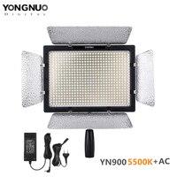 YONGNUO YN 900 YN900 5500K Wireless LED Video Light Panel Pro LED Video Studio Light Control For Canon with DC Power Adapter