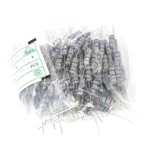 50 шт./лот 2 Вт 470ohm 5% Резистор/2 Вт 470R Ом углеродная пленка резистор +/-5%/2 Вт Сопротивление цветному кольцу оптовая продажа электронных