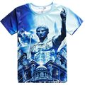 Cool T Shirt Men 2015 New Summer Mens Fashion Roman Emperor Caesar Printed 3D T Shirt Casual Brand Slim Fit Short Sleeve Tshirt