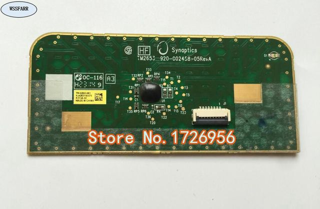 Original Laptop Touchpad Mouse Board For HP ProBook 430 G2 440 G2 450 G1 470 G1 G2 Touch pad-in