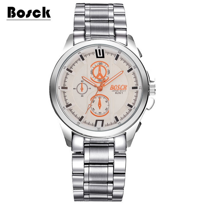 Ultra-thin waterproof steel belt quartz men's watch men's watch student men's watch fashion цена и фото