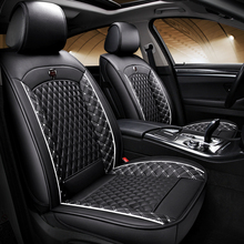 (Front + Rear) Special Leather car seat covers For Ford focus 1 2 3 focus 2005 2006 2009 focus mk2 mk3 mikado focus 3 серебро 00h