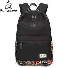 2018 Canvas Rucksack Women Backpack Sac A Dos Femme Travel Laptop Backpack Bag Pack School Backpack Bags For Teenage Girlsirls