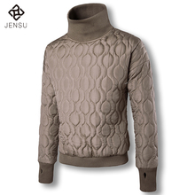 2017 Men New Pullovers Cotton Jackets and Coats Jaqueta Masculina Men's Casual Fashion Slim Fit Cotton Padded Winter Jackets Men