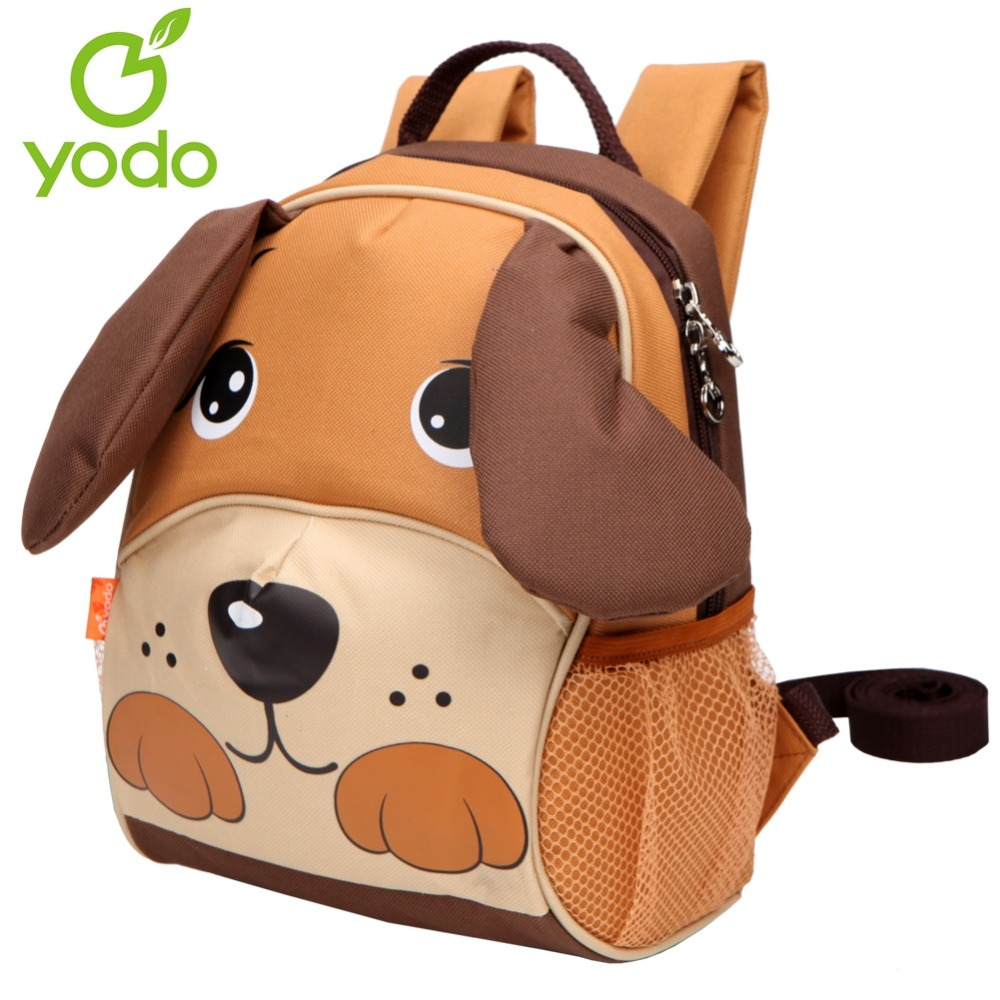 Yodo Children's Day Gift 3D Dog Toddler Backpack Anti-lost Baby School Bags  For Girls Boys Insulated Thermal Mochila Escolas