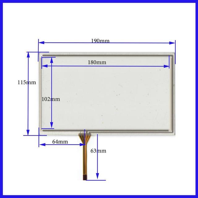 8 inch 190 115 four wire resistive touch screen handwriting screen rh aliexpress com