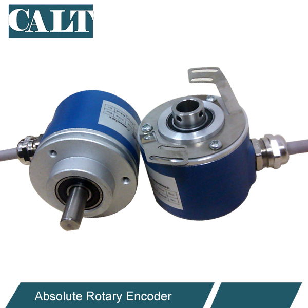 CAS60 cheap optical absolute encoder 10mm shaft absolute linear position sensor parallel SSI encoder linear displacement sensor pulling wire encoder pulling rope encoder pulling rope sensor