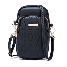 New Fashion Simple Small Square Bag Women's Designer Handbag 2019 High-Quality PU Leather Chain Mobile Phone Shoulder bags недорого