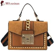 aeecb39249d1 Кожаная сумка для женщин 2019 flap tote красный ретро-чехол Женская сумочка  Коричневый женский сумка