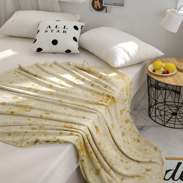 Burrito Throw Blanket 4