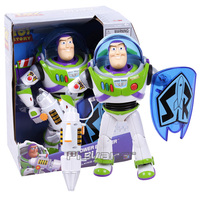 Toy Story Buzz Lightyear Power Blaster Talking Action Figure Toy Collection Model Doll for Kids