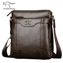 Brand Larger Capacity Men's Crossbody Bag Soft Leather Messenger Bags Men Shoulder Bag Man Sac Bolsa Business Purse High Quality