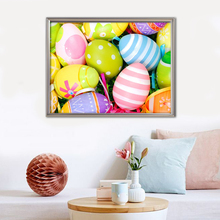 Full Square Diamond Painting Easter Egg 5D Diy Embroidery Cartoon Home Decoration Picture Mosaic Rhinestone