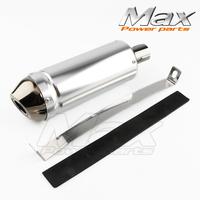 New Arrival 38mm Motorcycle Exhaust Muffler Tip Pipe For 125 150 160cc Dirt Pit Bike ATV