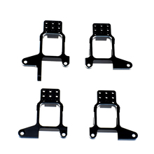 4pcs Front Rear Metal Shock Absorbers Bracket for 1/10 Land Rover Defender RC Crawler Car Traxxas TRX4 D90 D110 RC4WD hot racing hr traxxas revo summit aluminum negative shock absorbers 2 pieces new