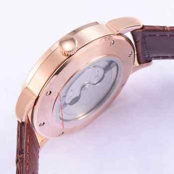 Debert 40mm sapphire glass 316L Seagull 1731 Automatic Mechanical Watch