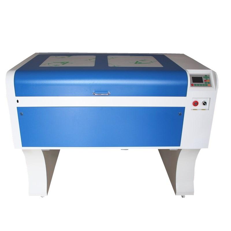 1060 laser graver machine, livraison gratuite HCZ RFE 80 W CO2 laser cnc DPS 1060 laser gravure cutter machine de marquage