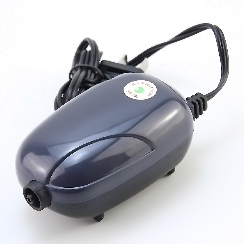 220V Akuarium ultra-senyap pam udara tangki ikan oksigen pam pam oksigen merah mesin oksigen tebukan ditambah oksigen 3W