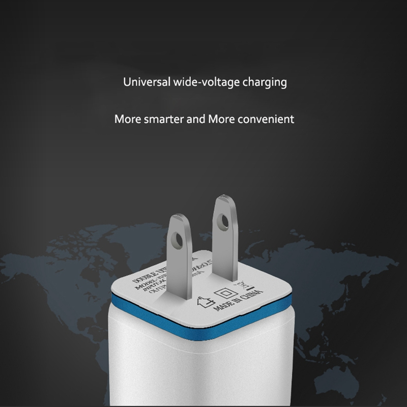 Image 5 - 5 в 2.1A двойной usb порт США ЕС вилка AC настенное зарядное устройство авто быстрый адаптер для зарядки для iPhone X 7 8 XS Xsmax samsung huawei P30-in ЗУ для мобильных телефонов from Мобильные телефоны и телекоммуникации