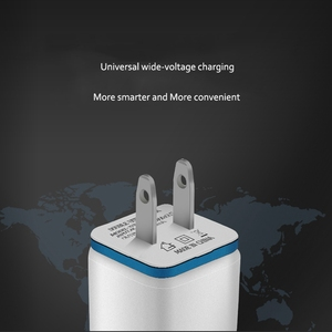 Image 5 - 5V 2.1A Dual USB Ports US EU Plug AC Wall Charger Auto Fast Charging Power Adapter For iPhone X 7 8 XS Xsmax Samsung Huawei P30