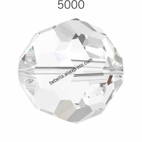 1 piece of 100% original Crystal from Swarovski 5000 Round Bead for DIY  bracelet jewelry 8ea9f717555f