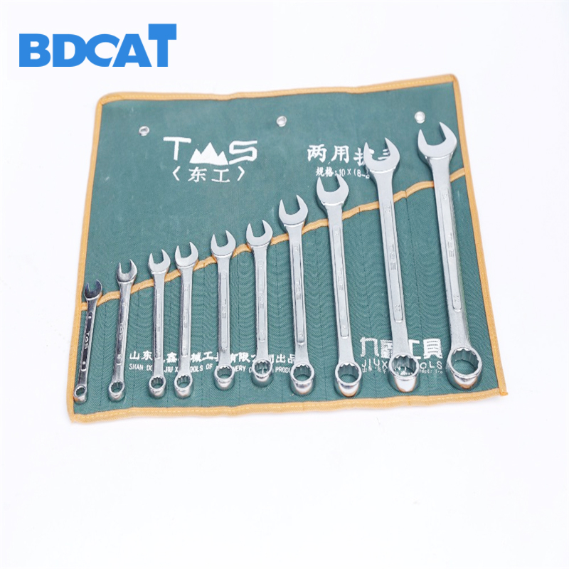 10PCS 8-24mm Gear Ratchet Wrench Keys Geared Spanner Set of Keys Open End Torque Ratchet Spanner Combination Wrench Tool Set 6pcs set activities ratchet gears wrench set open end wrenches repair tools to bike torque wrench combination spanner allen keys