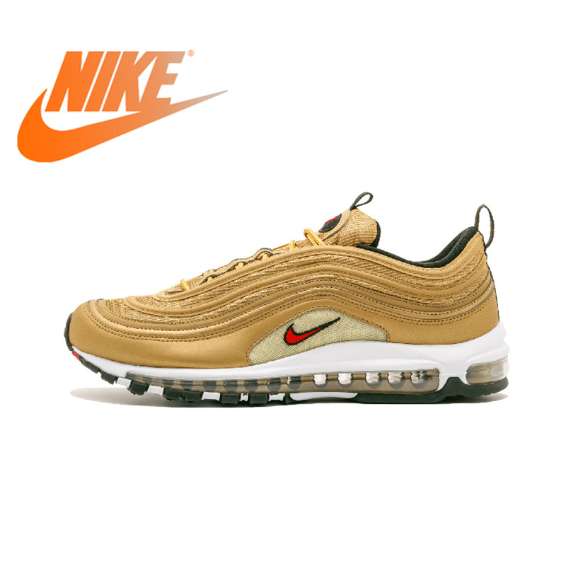 release date: acd87 62561 Official Genuine Nike Air Max 97 OG QS RELEASE Mens Running Shoes  Breathable Sports Sneakers Outdoor