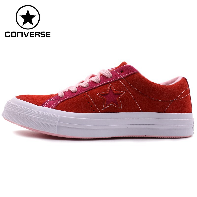 Original New Arrival 2018 Converse One Star Unisex Leather Skateboarding Shoes Canvas Sneakers original new arrival 2017 converse men s skateboarding shoes leather sneakers