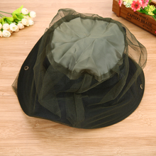 2017 NEW Fishing Hats Fishing Cap Anti Mosquito Bug Bee Insect Mesh Hat Head Face Protect Net Cover Travel Camping Protector